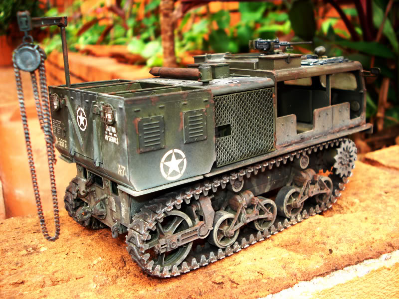 M 16 Half Track - M4 High Speed Tractor Hightrator3