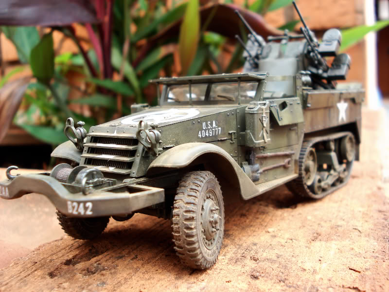 M 16 Half Track - M4 High Speed Tractor M161