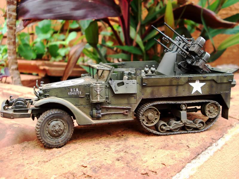 M 16 Half Track - M4 High Speed Tractor M162