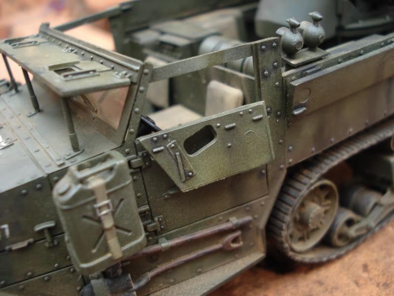 M 16 Half Track - M4 High Speed Tractor M163