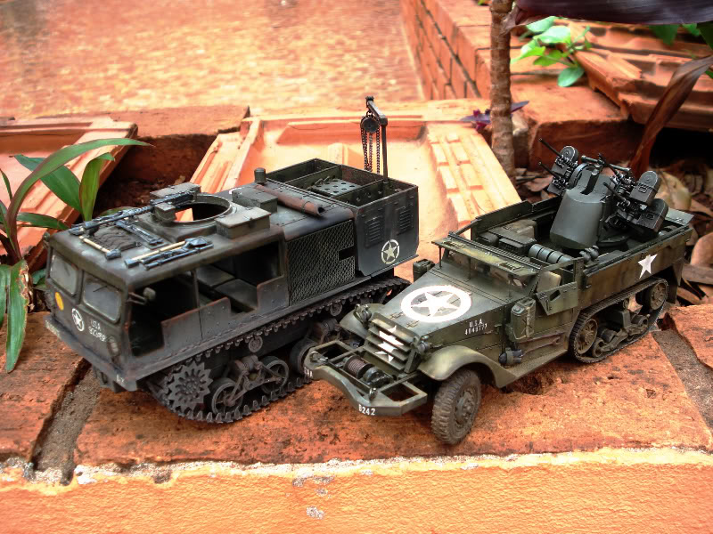 M 16 Half Track - M4 High Speed Tractor M16hightrator