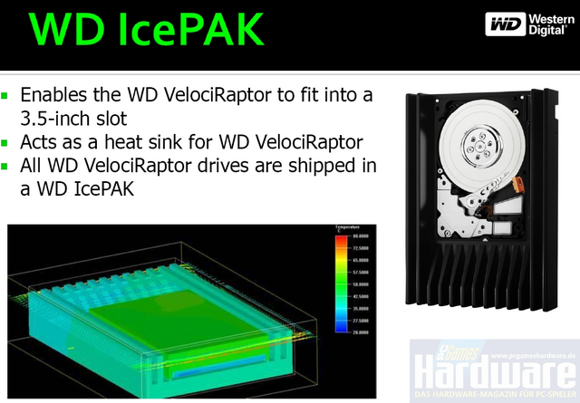 [Analise] Western Digital Velociraptor 300GB Icepak