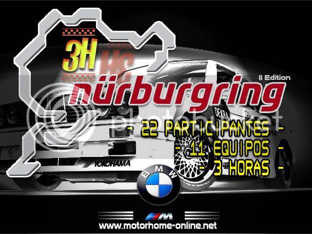 Evento Especial - 3H NURBURGRING 3hcartel