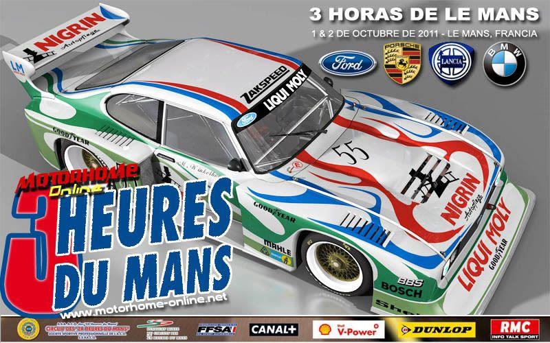 Evento Especial - 3H LE MANS 2011 3hlemans2011