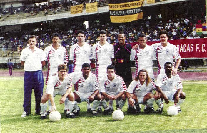 Historia del Caracas FC (Galería) CCSFC95-96