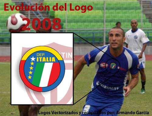 Evolución de Escudos | Deportivo Petare (Dvo. Italia) DIT6
