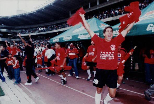 Historia del Caracas FC (Galería) Pentacampeon