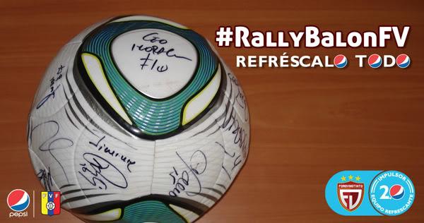 Rally Balón RefrescaloTodo + ForoVinotinto RallyBalonFV