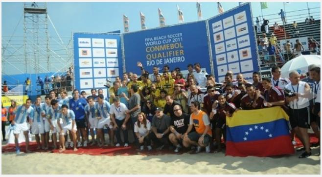Fútbol Playa internacional - Página 3 Venezuela