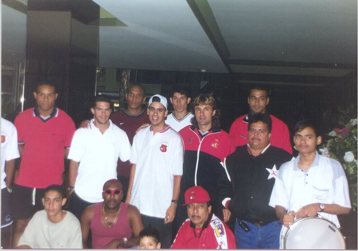 Historia del Caracas FC (Galería) ViajeBarraSC2000
