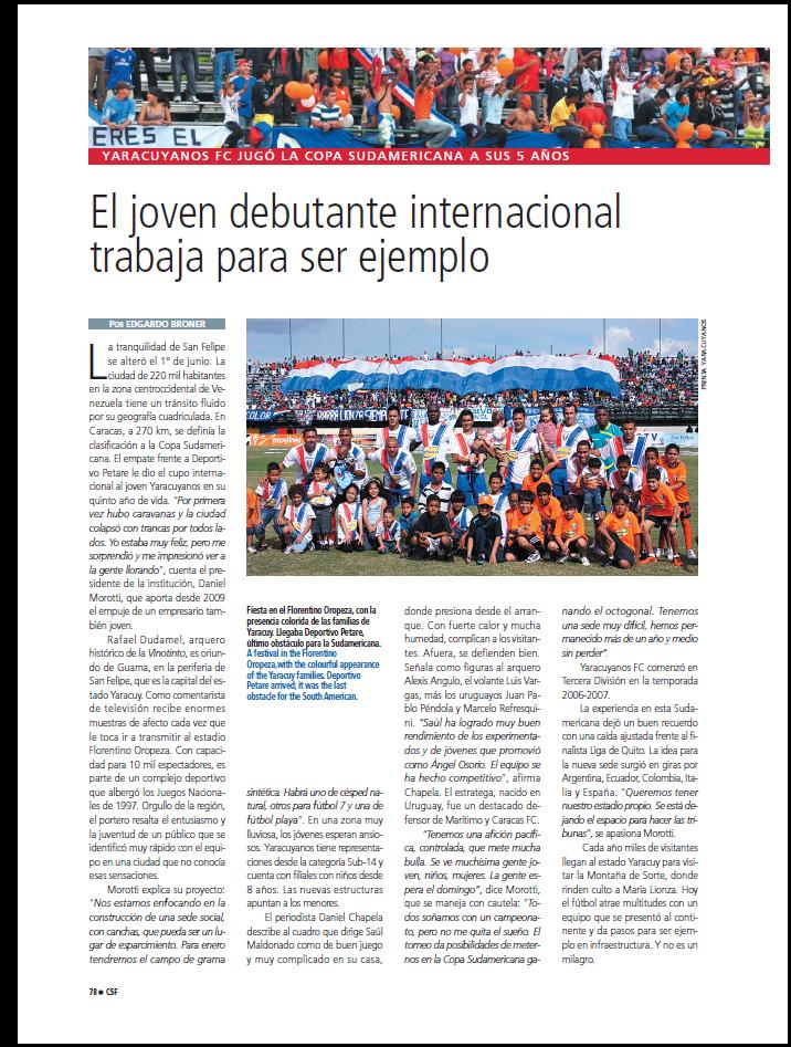 YARACUYANOS FC | LOS COLOSOS DE SORTE YFC1
