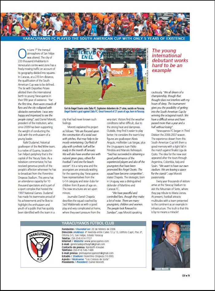 YARACUYANOS FC | LOS COLOSOS DE SORTE YFC2