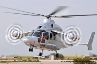 Eurocopter X3 Un helicóptero tan veloz como un avión Eurocopter_X3