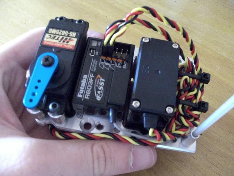 Mon savage aux électrons ! MAJ du 19/02 : Changement moteur+chassis CIMG1132800x600