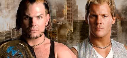 Friday Night Smackdown 14/4/2008 Jeff Hardy vs Chris Jericho JeffvsJericho