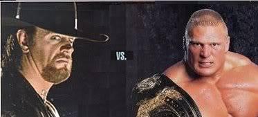 Friday Night Smackdown 14/04/2008 Undertaker vs Brock Lesnar UndertakervsBrockLesnar