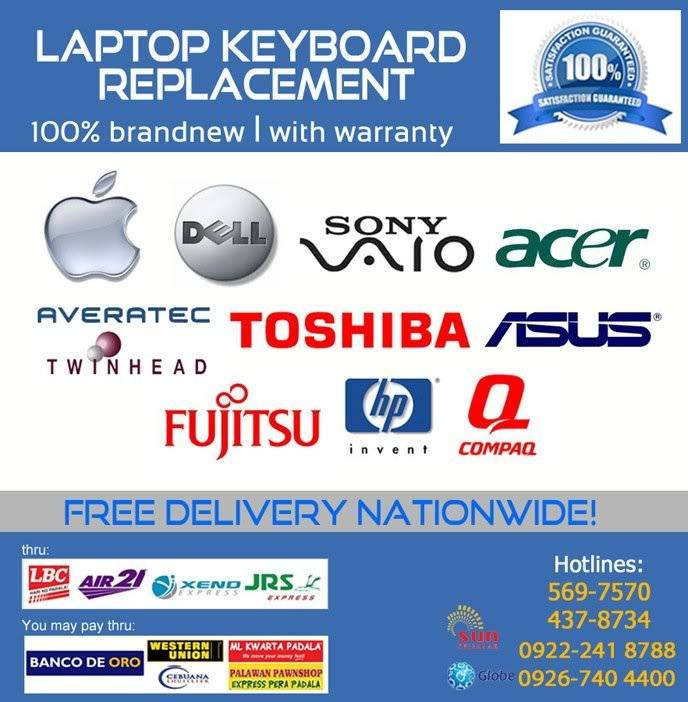 Laptop Keyboard Replacement - Ebase Philippines Keyboard2