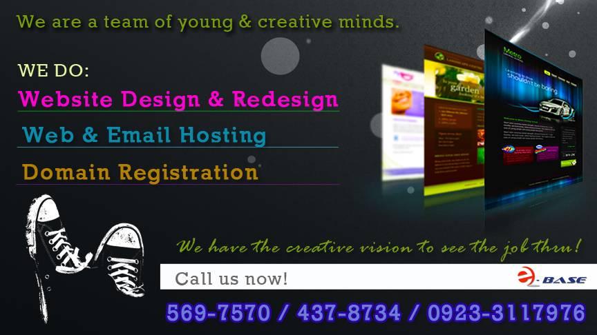 Web Design - Ebase Philippines Websitedesignad