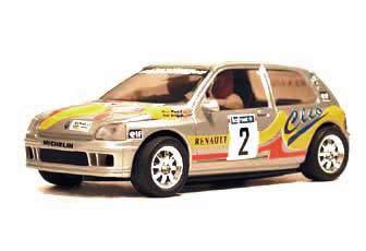 Echange Ninco Clio ancien modèle 50119
