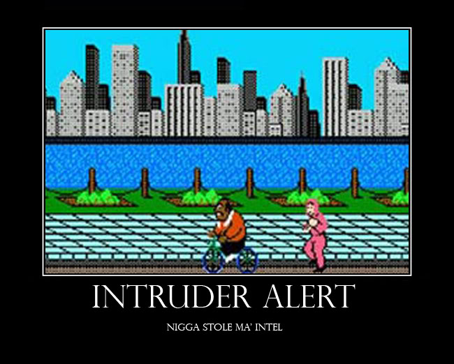 INTRUDER ALERT DemotivationBIKEcopy