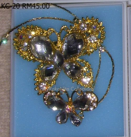 Swarovski Crystal & Pearl Brooches From Sabah KC-20-RM45-1