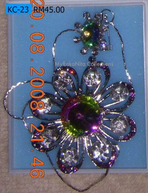 Swarovski Crystal & Pearl Brooches From Sabah KC-23-RM45-1