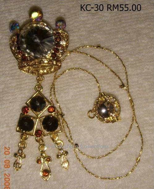 Swarovski Crystal & Pearl Brooches From Sabah KC-30-RM55-1