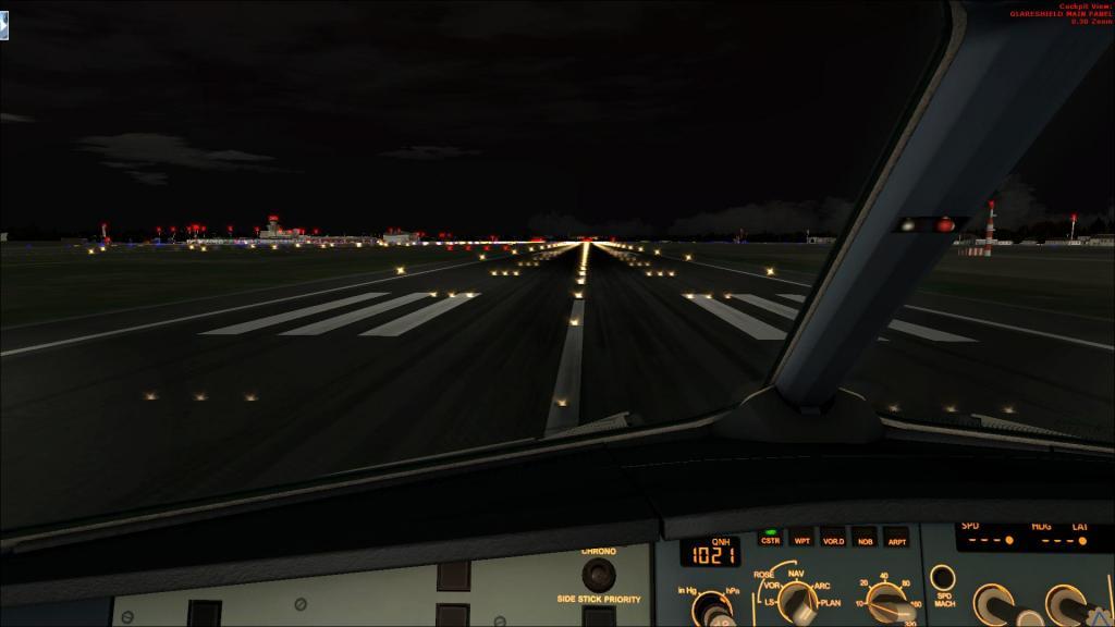 Air Berlin A320-214CFm Berli Tegel - - Palma de Mallorca Fsx2014-09-1408-13-11-12