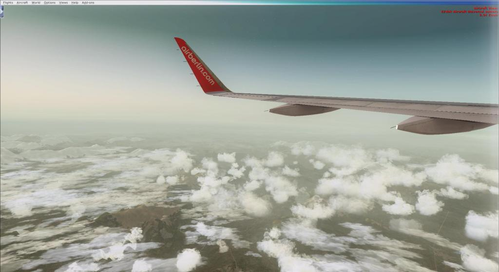 Air Berlin A320-214CFm Berli Tegel - - Palma de Mallorca Fsx2014-09-1409-27-47-95