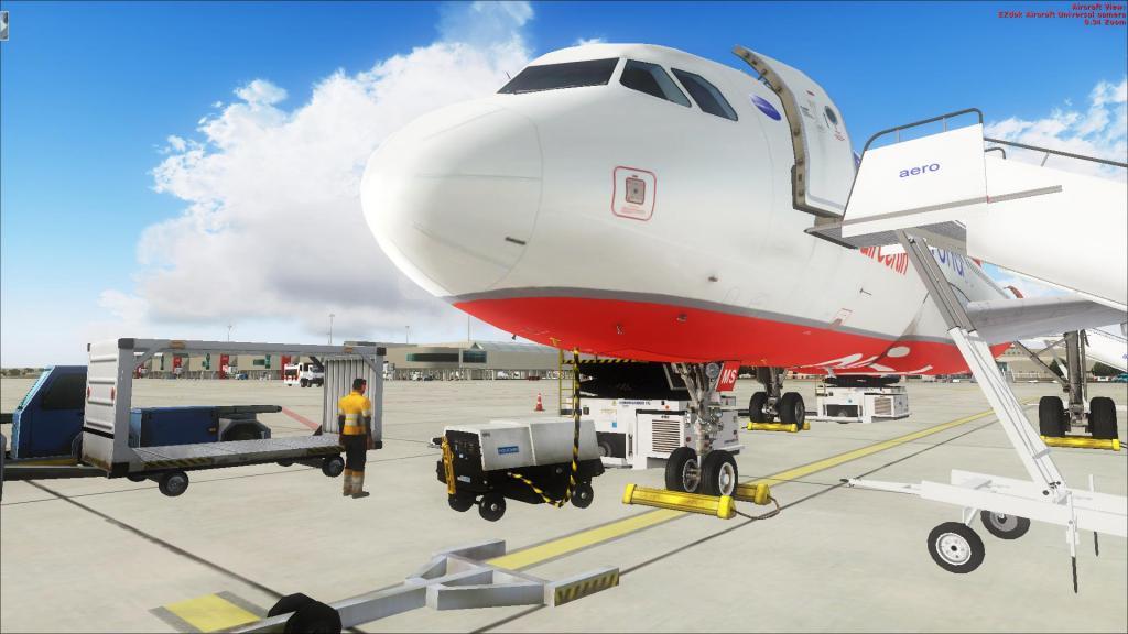 Air Berlin A320-214CFm Berli Tegel - - Palma de Mallorca Fsx2014-09-1410-48-24-27