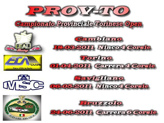 3° PROVA CAMPIONATO PROVINCIALE TO Campionatoprovto