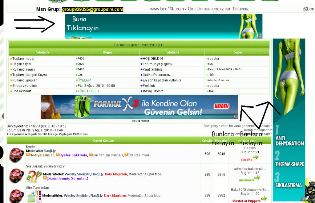 Sitedeki yenilikler 02.08.2010 4-7