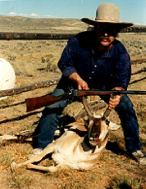 My Apex 45-70 kill. Antelope
