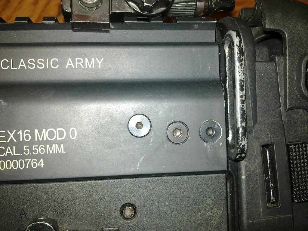 se vende scar l de clasic army con escopeta 13032011320