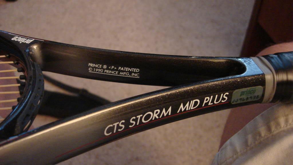 Prince CTS Storm Mid Plus anni '90 DSC04456