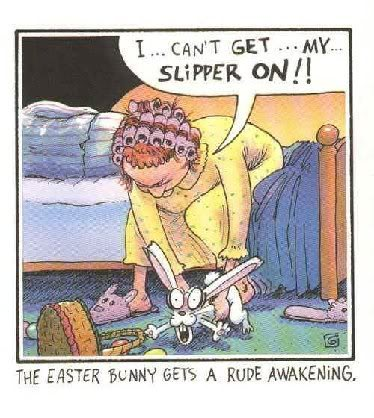 What's on your mind? EasterBunnySlipper