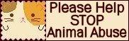 Stop Animal Abuse Banners Saa