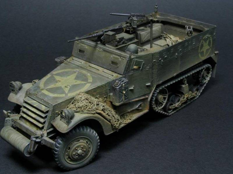 US M2 HALFTRACK  DRAGON 1/35 P6180017