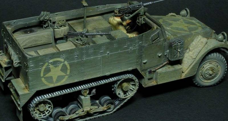 US M2 HALFTRACK  DRAGON 1/35 P6180029c