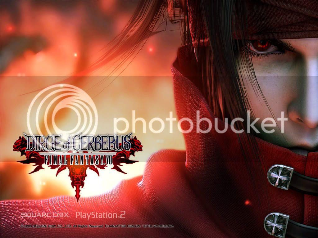 Final Fantasy: Dirge of Cerberus Review! FFVIIDirgeofCerberusVincentValentin