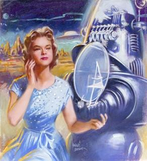 Forbidden Planet (1956) ForbiddenPlanetHarleyBrown