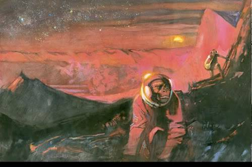 Robinson Crusoe on Mars (1964) Robinson-Crusoe-on-Marsart