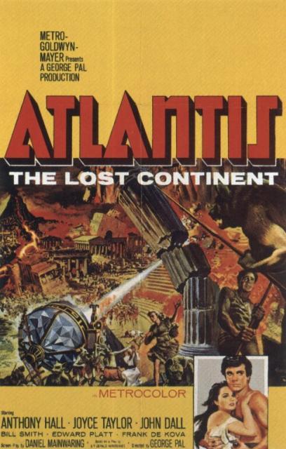 Atlantis the Lost Continent ATLANTISTHELOSTCONTINENT