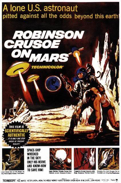 Robinson Crusoe on Mars (1964) POSTER-ROBINSONCRUSOEONMARS