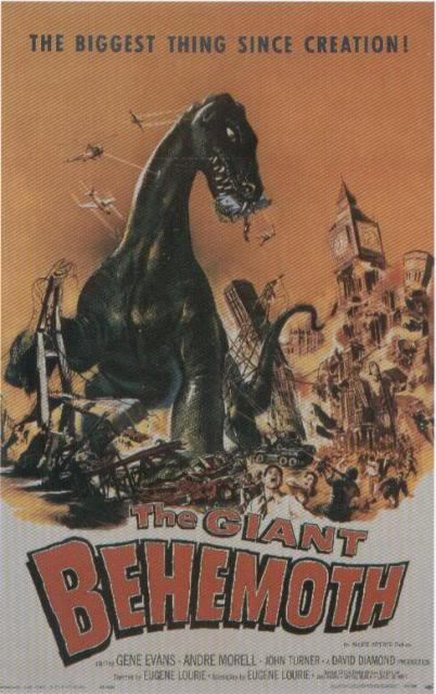 The Giant Behemoth (UK) POSTER-THEGIANTBEHEMOTH