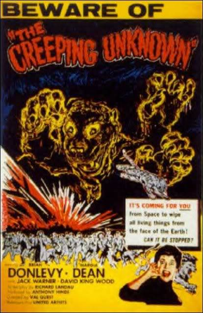 The Quatermass Xperiment (1955 UK) (The Creeping Unknown) POSTER-THEQUATERMASSEXPERIMENTTHECR