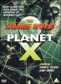 The Cosmic Monster (Cosmic Monsters; The Strange World of Planet X) (UK) Cosmicmonsterposter