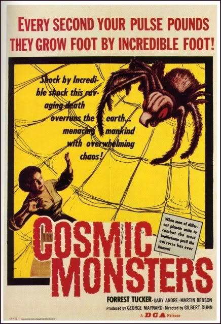 The Cosmic Monster (Cosmic Monsters; The Strange World of Planet X) (UK) Cosmicmonsters_1sheet-1