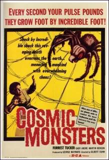 The Cosmic Monster (Cosmic Monsters; The Strange World of Planet X) (UK) Cosmicmonsters_1sheet