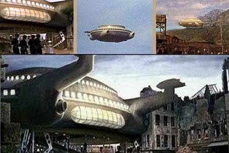 Daleks' Invasion Earth: 2150 A.D. (1966 UK) DaleksDalekSaucer